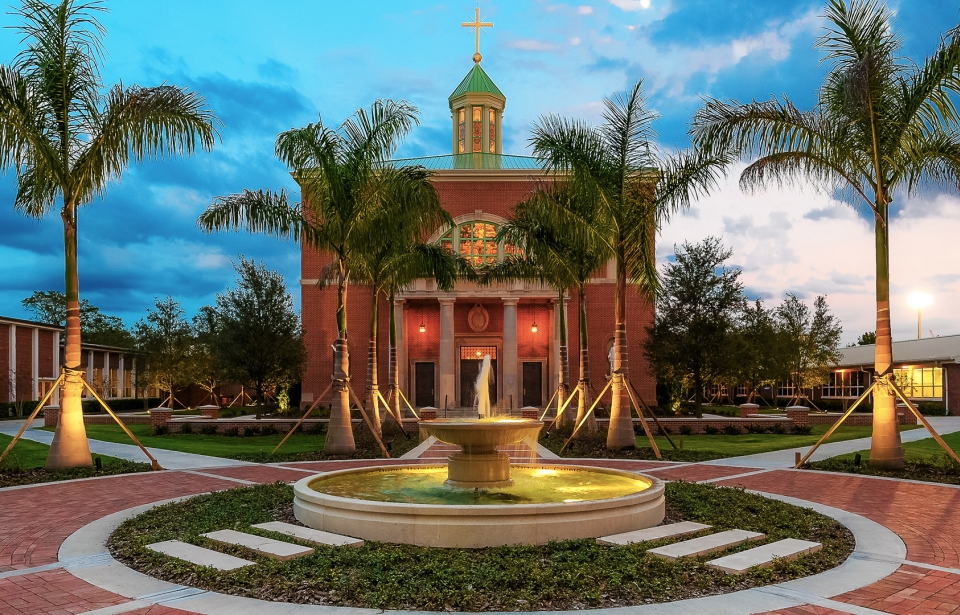 Jesuit High School Chapel in Tampa