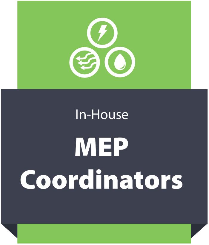 In house MEP Coordinators